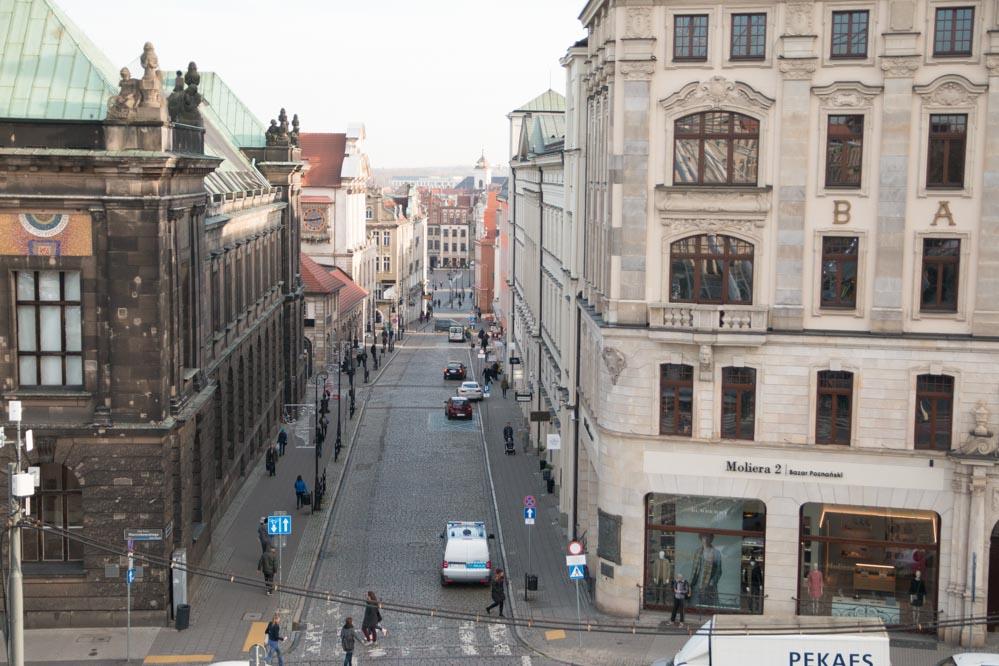 poznań panorama widok stare miasto - Leon Bielewicz