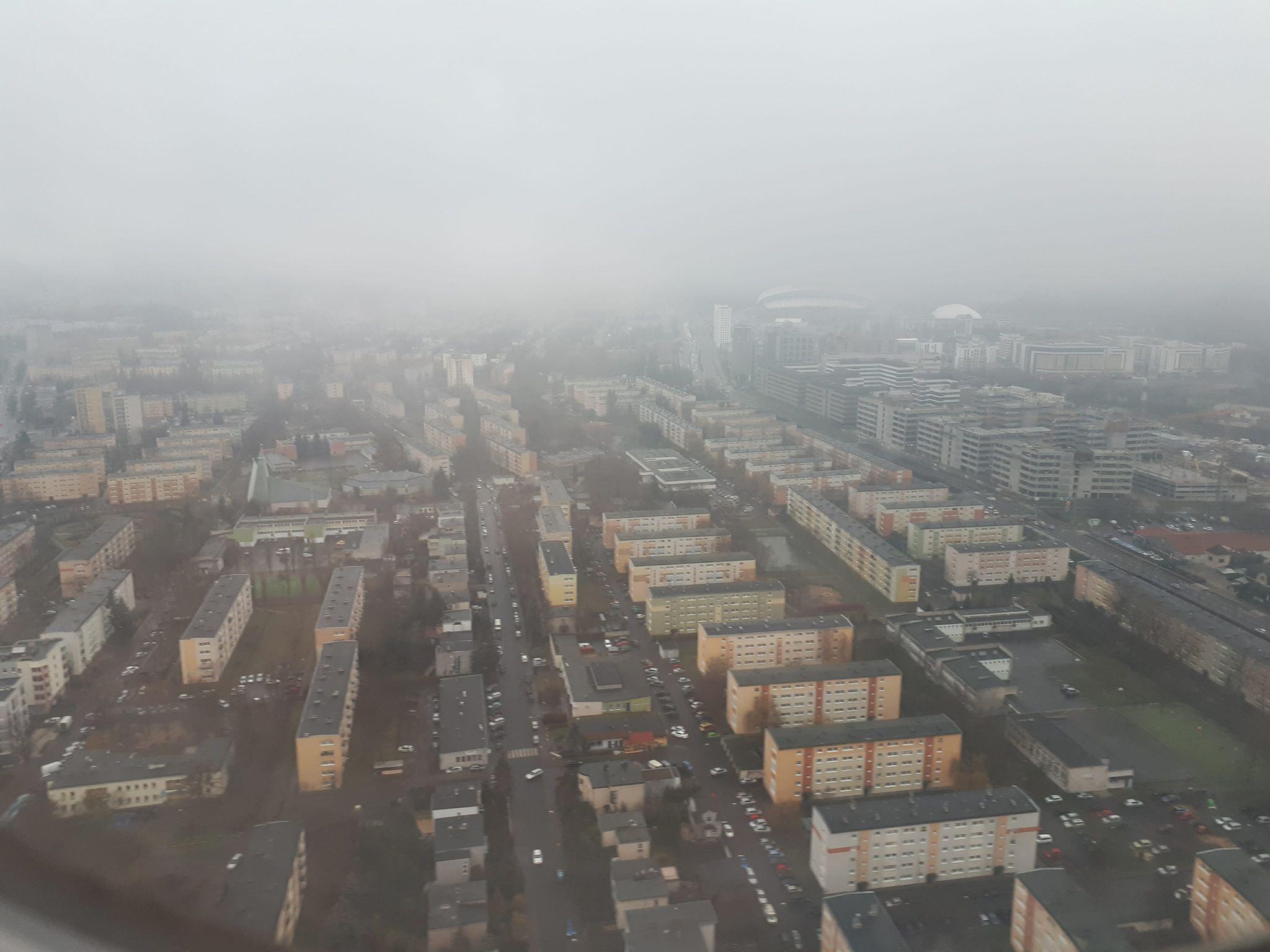 smog nad miastem poznań - Karolina Rej