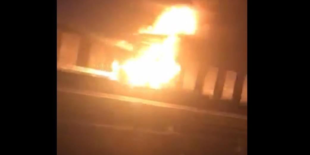 pożar ciężarówki a2 nowy tomyśl - Sławomir Stańczak