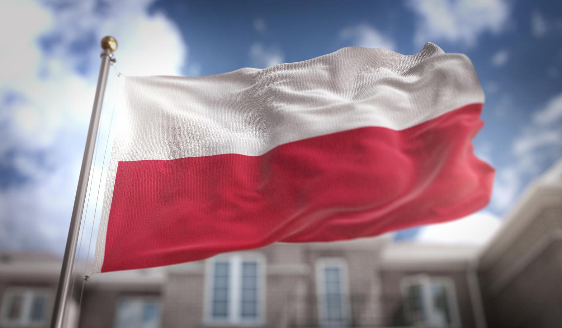 polska flaga polski - Fotolia
