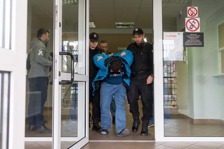 zabójca liliany Szymon B. Piła - Policja