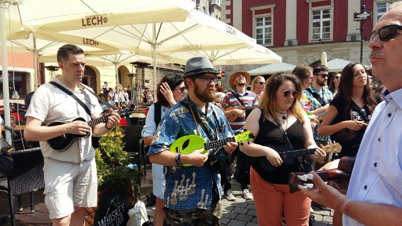 ukulele na Starym Rynku - Magda Konieczna