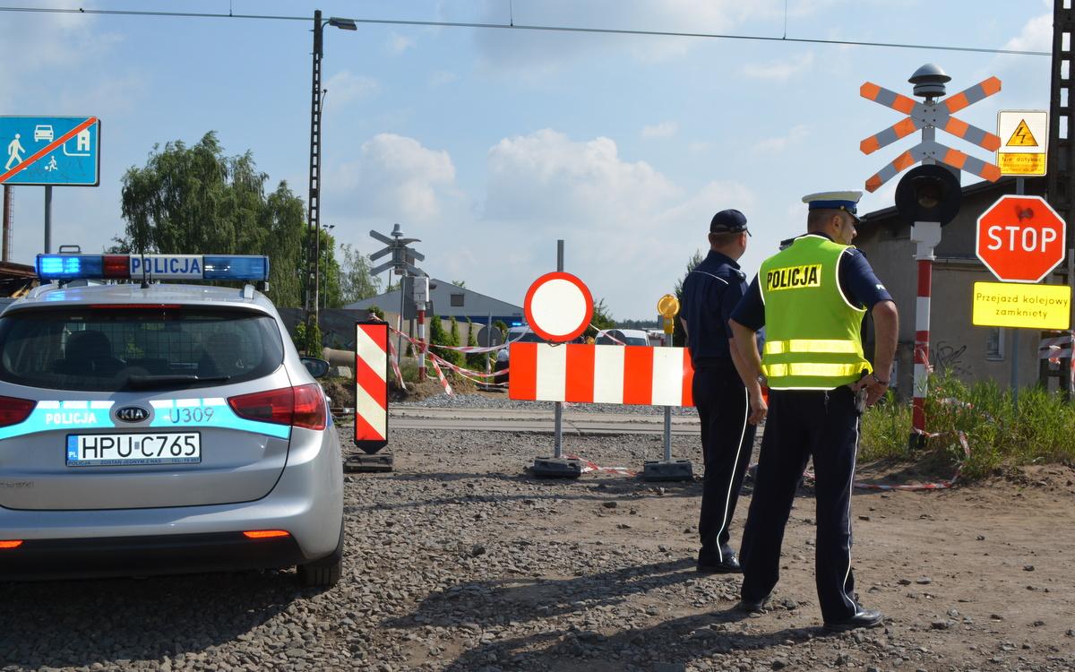 wypadek rydzyna tory policja - Rzecznik prasowy KMP w Lesznie Monika Żymełka