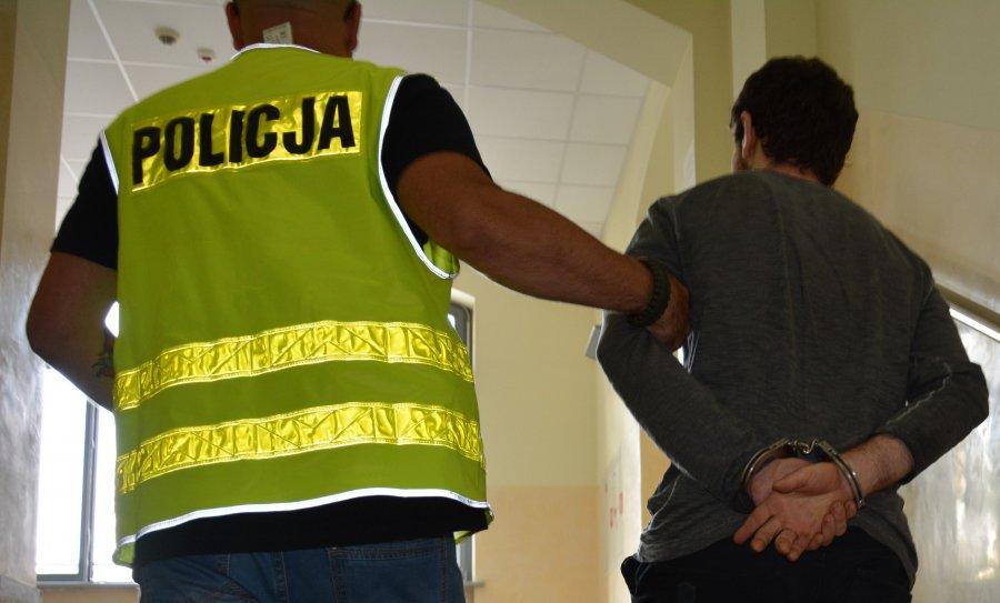 oszust zatrzymanie - Komenda Miejska Policji w Poznaniu