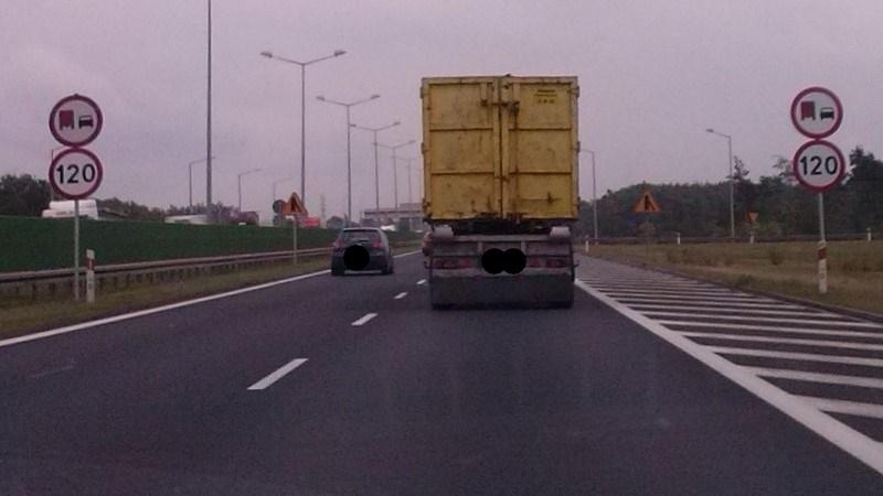ruch drogowy a2 ograniczenie przepisy drogowe