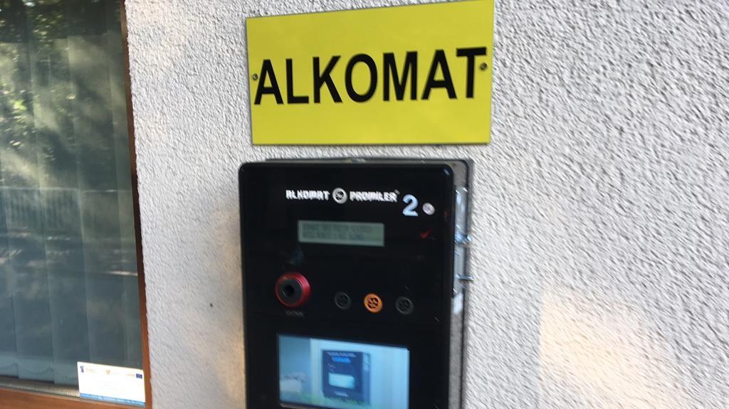 alkomat skorzęcin kierowcy trzeźwość - Rafał Muniak