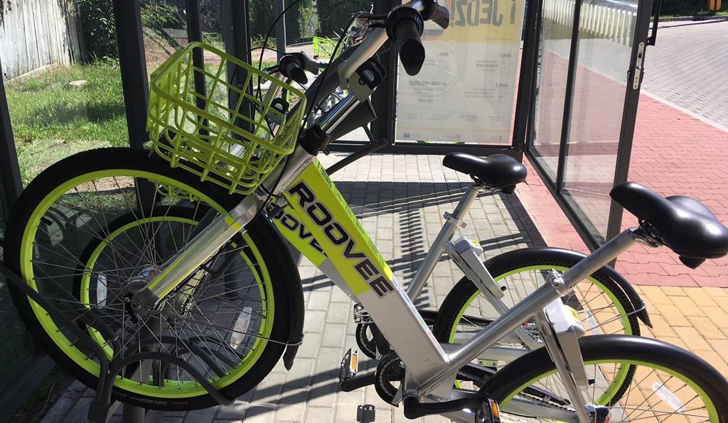 rowery miejskie Chodzież - Przemysław Stochaj