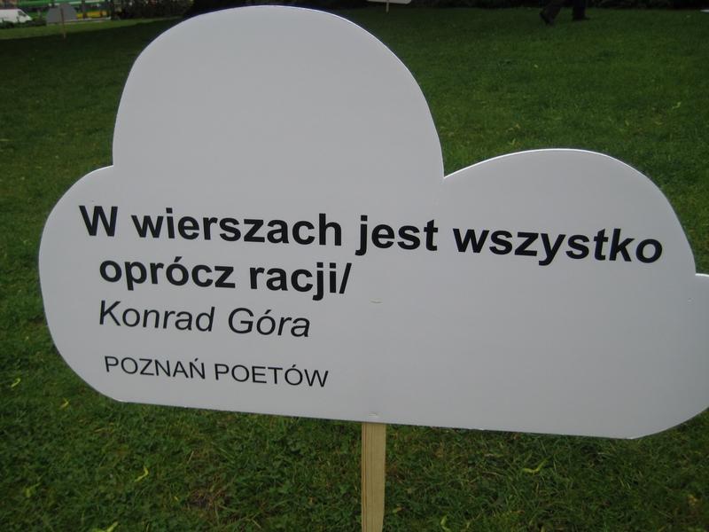 Festiwal Poznań Poetów - początek - Jacek Butlewski
