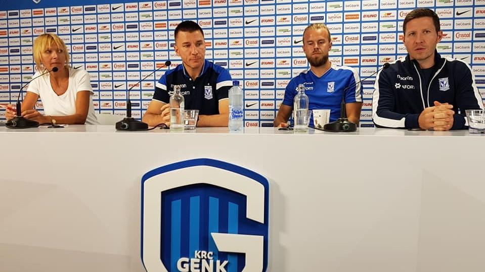 konferencja genk grzegorz hałasik - Grzegorz  Hałasik