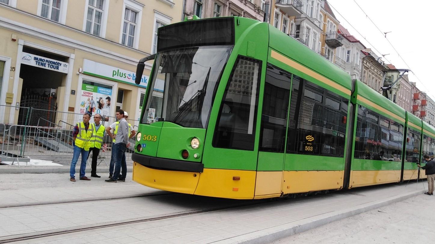 święty marcin tramwaje remont oddanie do użytku - Wojtek Wardejn