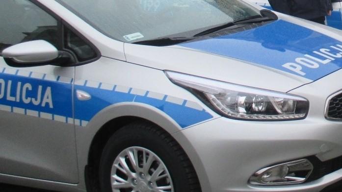 radiowóz policja wypadek awantura - Danuta Synkiewicz