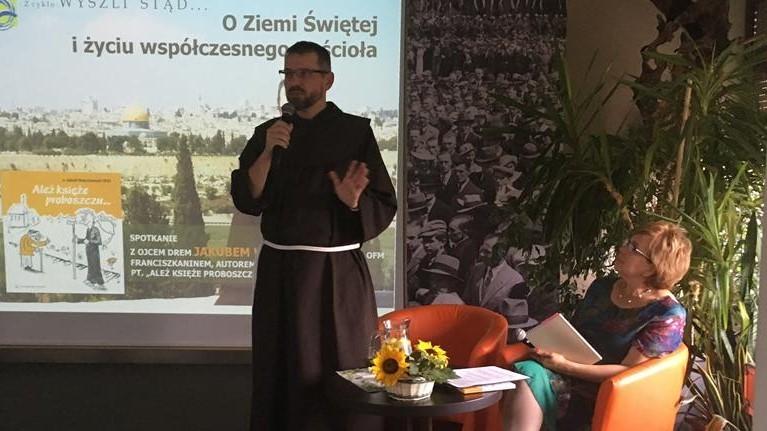 spotkanie biblista Jakub Waszkowiak Nowy Tomyśl - Andrzej Ciborski