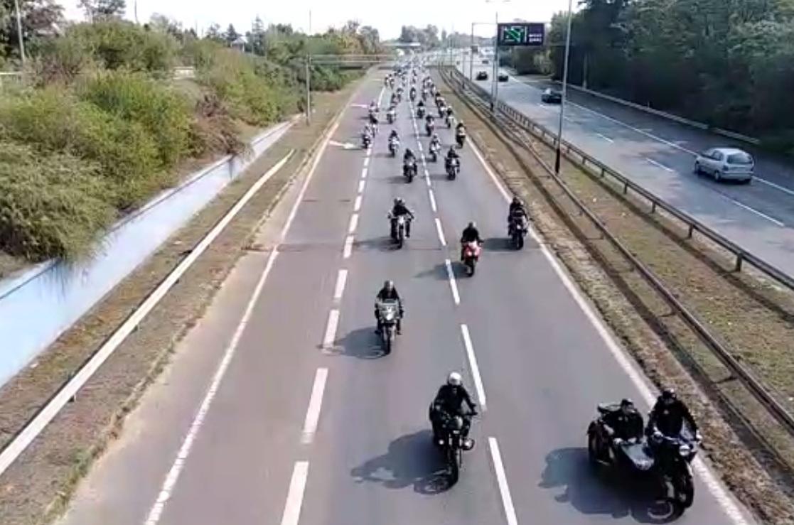 motocykliści sezon zakończenie - Wojciech Wardejn