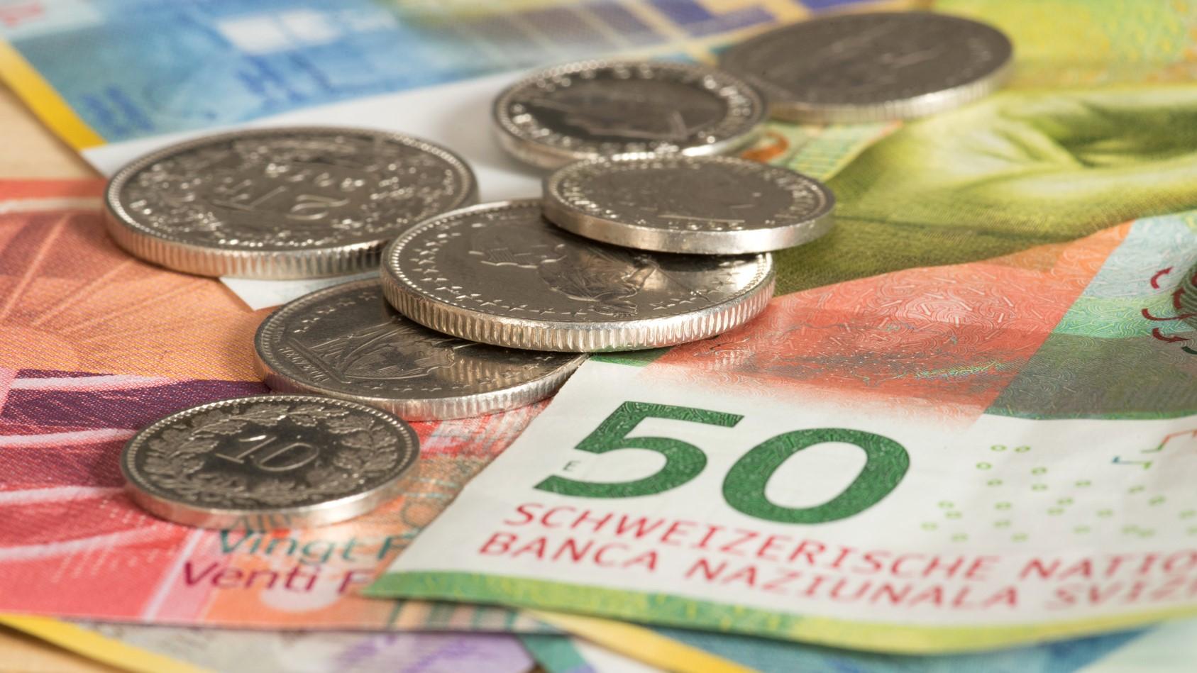 frank szwajcarski waluta - fotolia