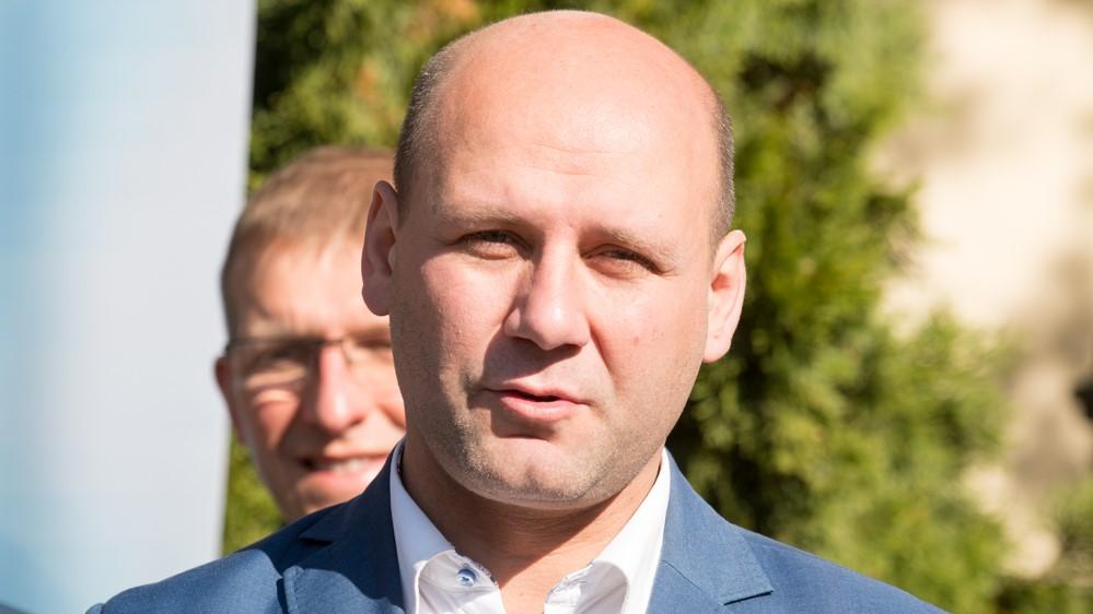 Szymon Szynkowski vel Sęk swarzędz konferencja wybory 2018 - Wojtek Wardejn