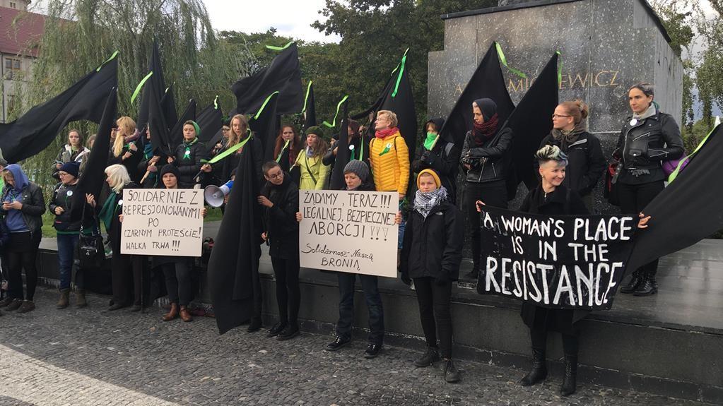 protest kobiet aborcja poznań - Jacek Butlewski