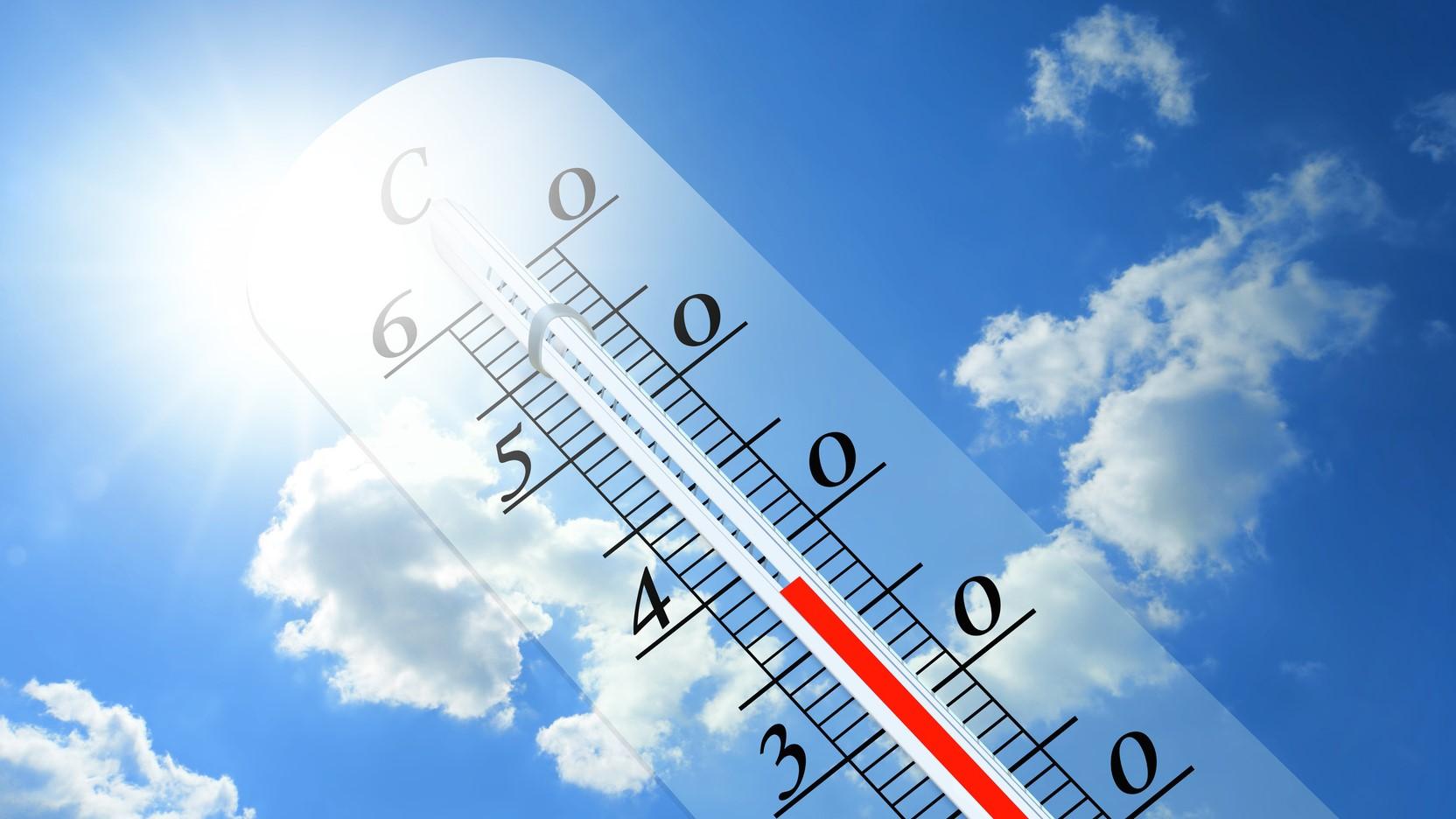 termometr pogoda ciepło - fotolia