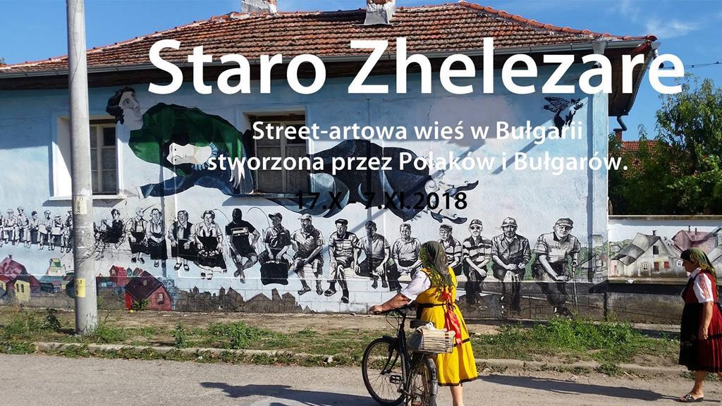 Wystawa Staro Zhelezare w Poznaniu - FB: Staro Zhelezare Street Art Village