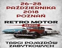 26-28 PAŹDZIERNIKA, RETRO MOTOR SHOW - TARGI POJAZDÓW ZABYTKOWYCH