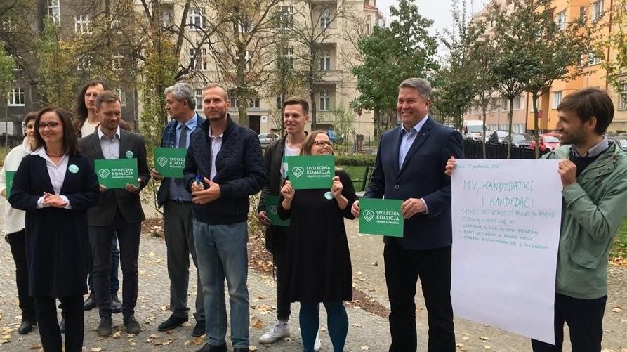 Działacze koalicji Prawo do Miasta kontrakt z mieszkańcami - Adam Michalkiewicz