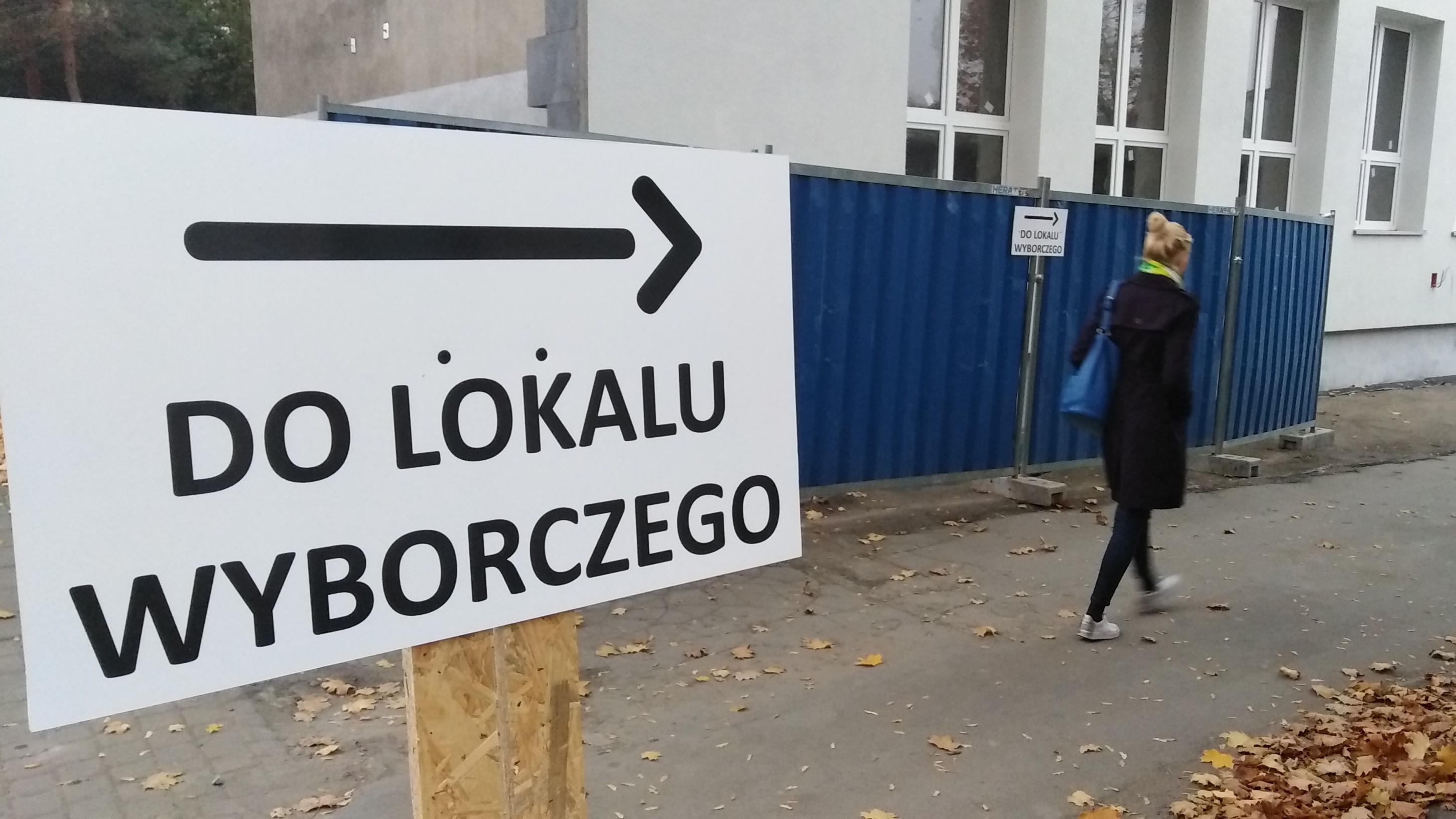 lokal wyborczy poznań łazarz komisja obwodowa 27 - Wojtek Wardejn