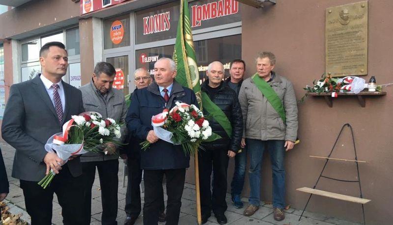 piła ludowy tablica witos - Przemysław Stochaj