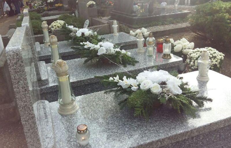 grób znicze wszystkich świętych - Magdalena Konieczna
