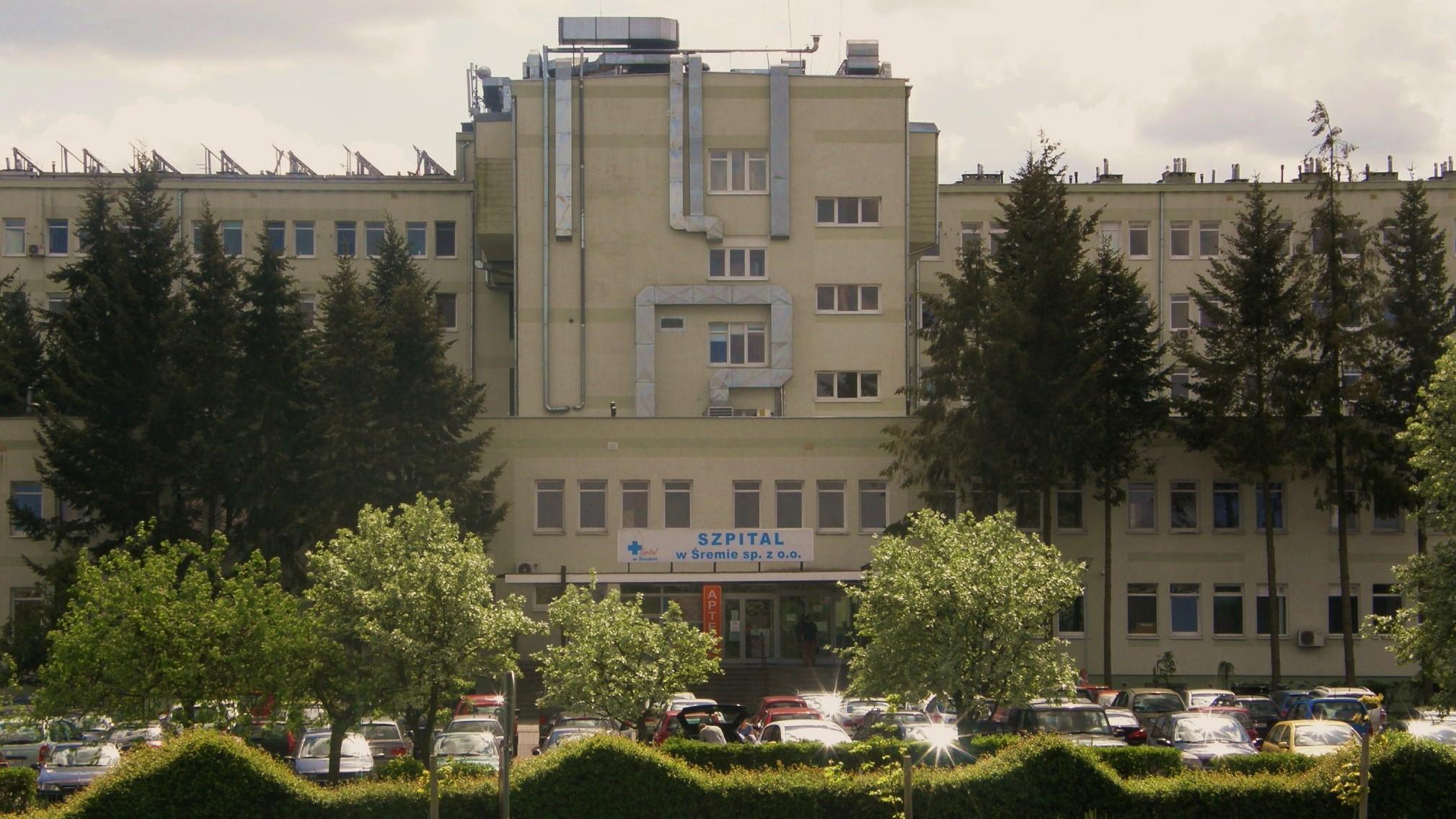 szpital w śremie powiatowy - FB: Szpital w Śremie