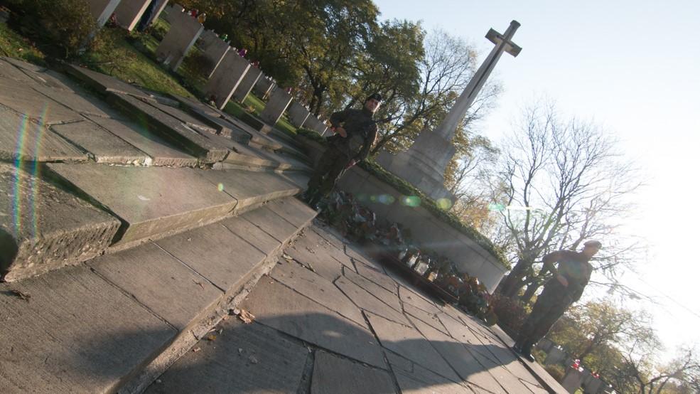 remember day żołnierze Wspólnoty Brytyjskiej - Wojtek Wardejn
