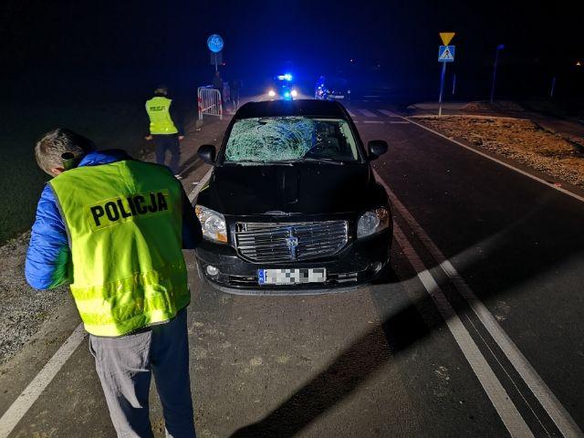 leszno wypadek potrącenie - KMP Leszno