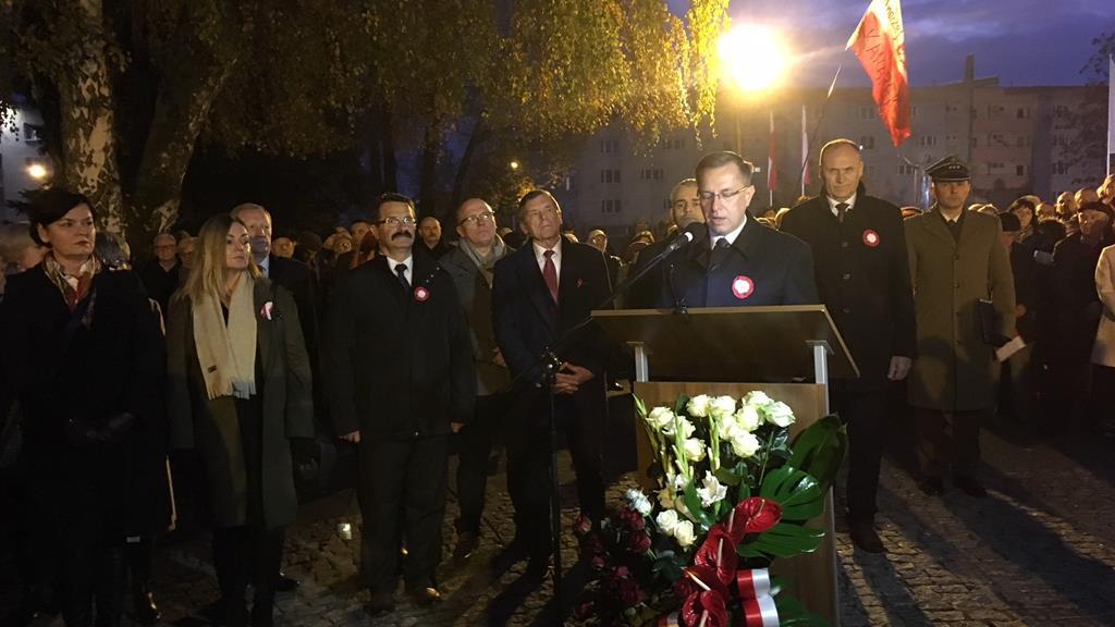 obchody niepodległości piła 2018 - Przemysław Stochaj