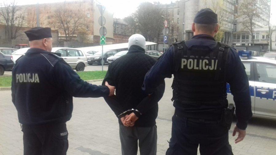 kibice lecha zatrzymani przez policję - KWP Łódź