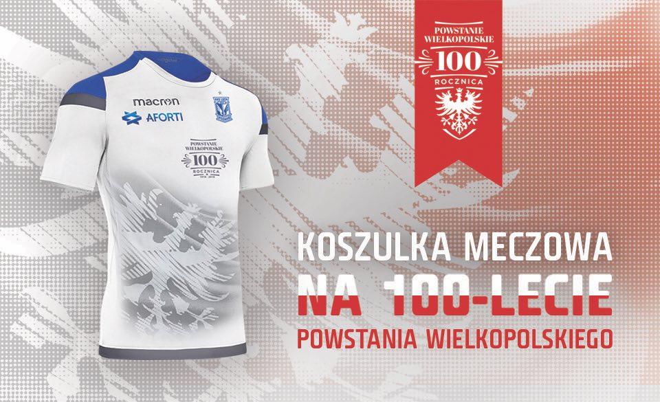 lech poznań koszulka powstańcza - Lech Poznań, Facebook