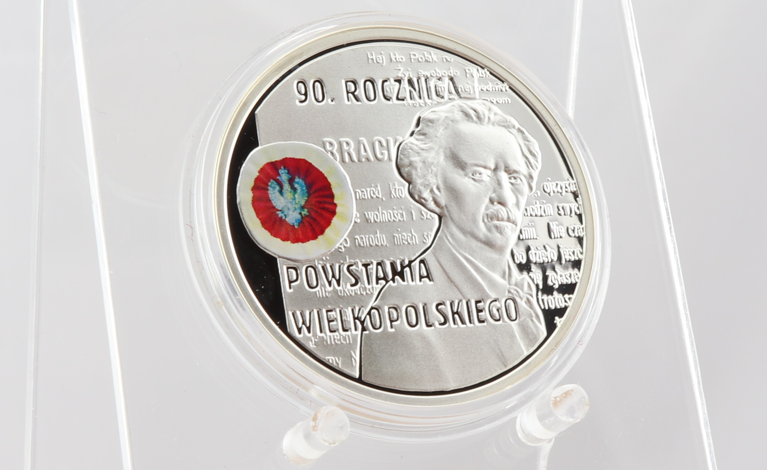 moneta 90-lecie powstania - NBP