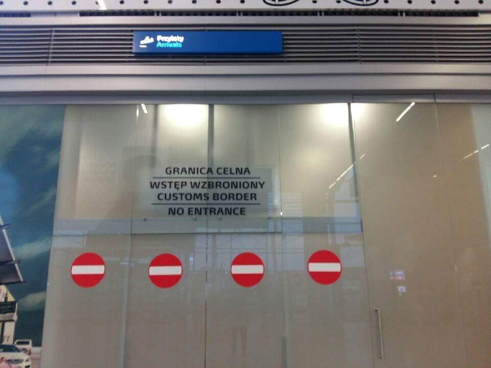granica celna lotnisko - Magdalena Konieczna - Radio Poznań