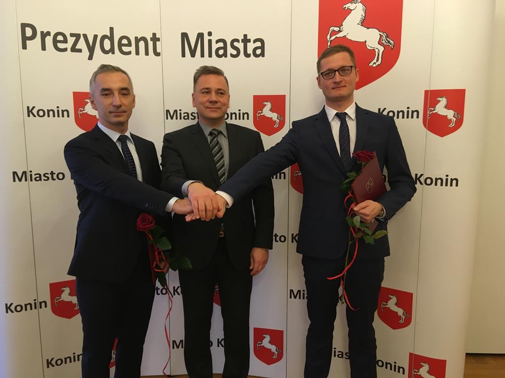 zastępcy wiceprezydenci prezydenta konina piotra korytkowskiego - Sławomir Zasadzki - Radio Poznań