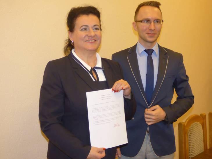 Barbara Gmerek zastępca burmistrza ostrzeszów - UM Ostrzeszów