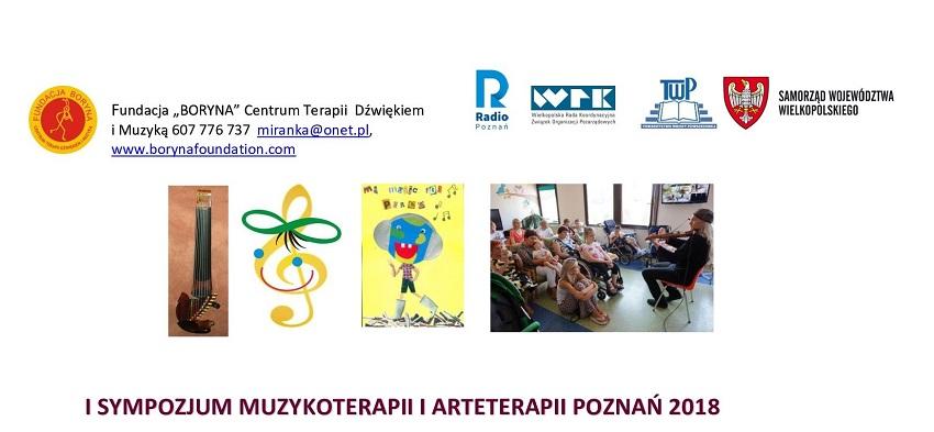 sympozjum muzykoterapii i arterapii - Materiały prasowe