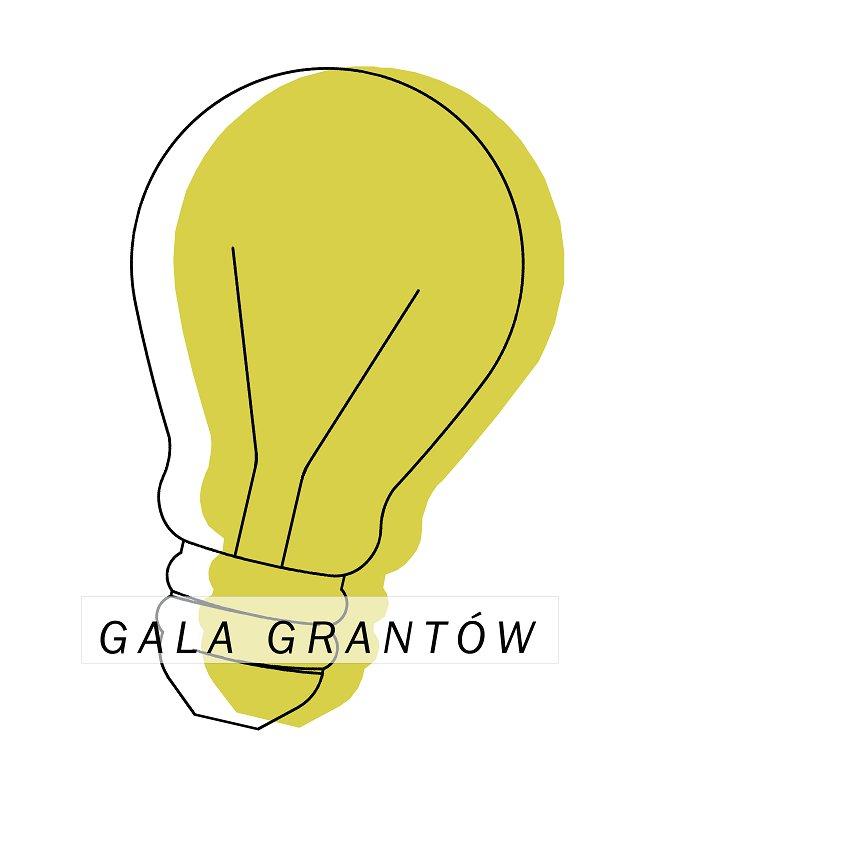 Gala grantów - logo - Materiały prasowe