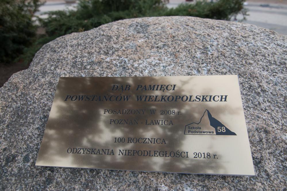 Odsłonięcie pamiątkowej tablicy na Ławicy - Wojtek Wardejn - Radio Poznań