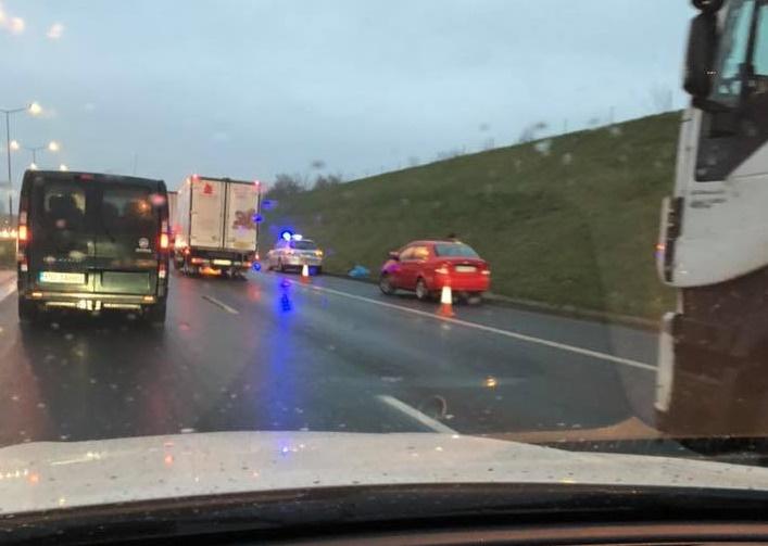 wypadek autostrada - Karol - Motosygnały