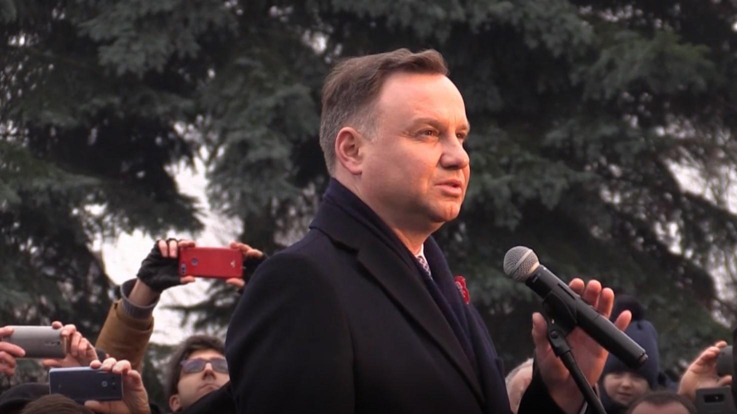 prezydent andrzej duda w mosinie  - Łukasz Kasprowicz