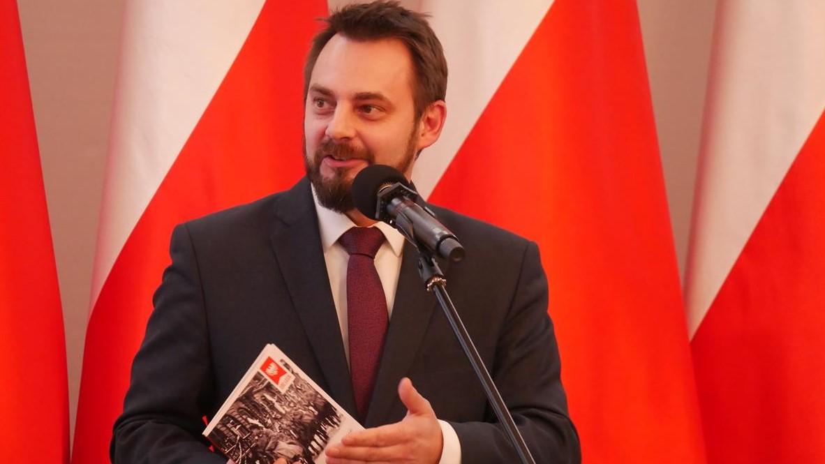 belweder warszawa otwarcie portalu o powstaniu wielkopolskim Piotr Bernatowicz - Kacper Witt - Radio Poznań