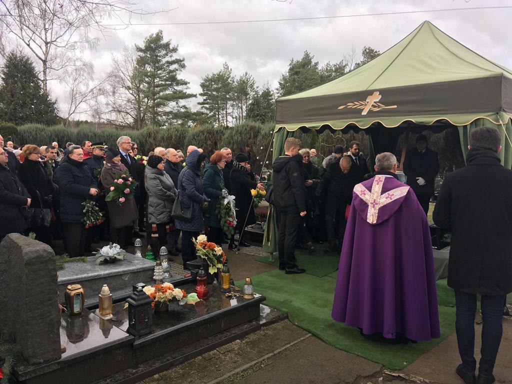 pogrzeb prof. jan sandorski - Michał Jędrkowiak - Radio Poznań