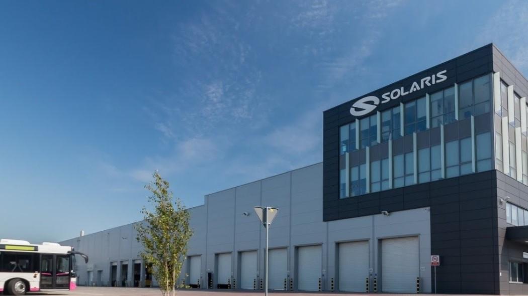 solaris siedziba firmy autobus - Google Maps/  Solaris Bus & Coach S.A.