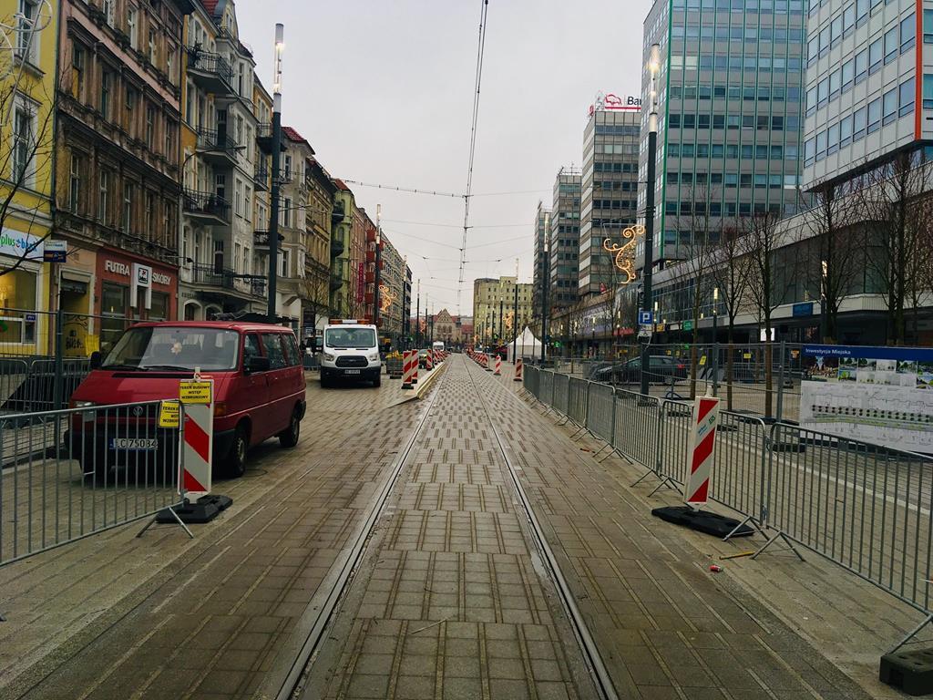 ulica święty marcin po remoncie poznań - Adam Michalkiewicz