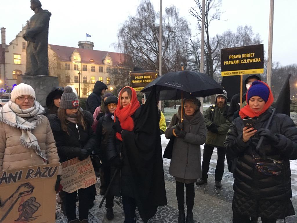 przemarsz przeciwko przemocy poznań - Piotr Jaśkowiak - Radio Poznań