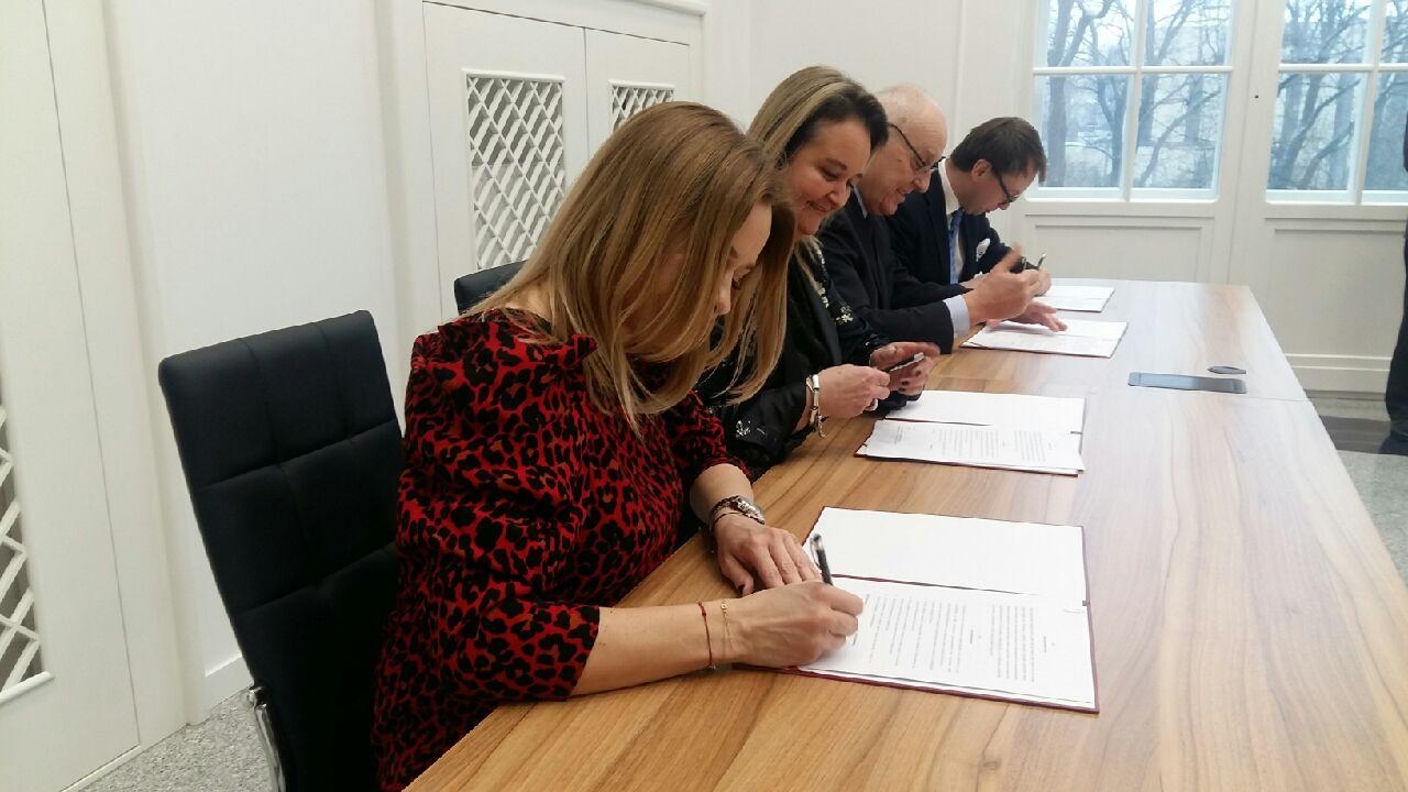 umowa repatrianci środa wielkopolska podpisanie umowy - Magdalena Konieczna