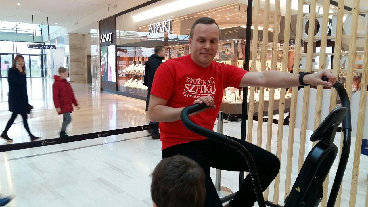 Marcin urbaś spalanie kalorii rowerek posnania - Magda Konieczna