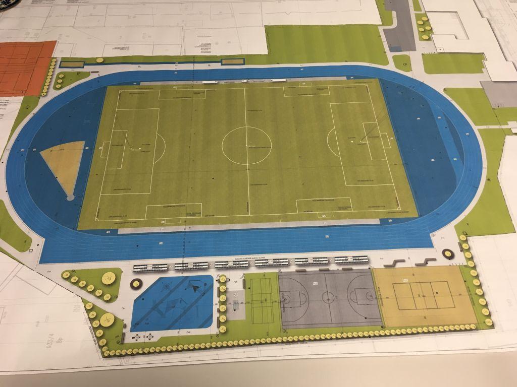 stadion nowy tomyśl projekt - Andrzej Ciborski
